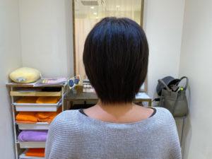 抗がん剤治療後の自毛デビュー